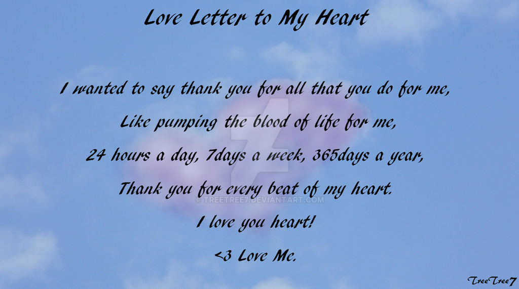 how to write a love letter to my love