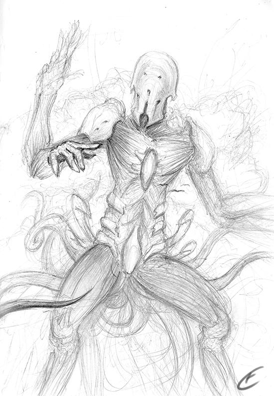 New Eldrazi Species by Gallardose