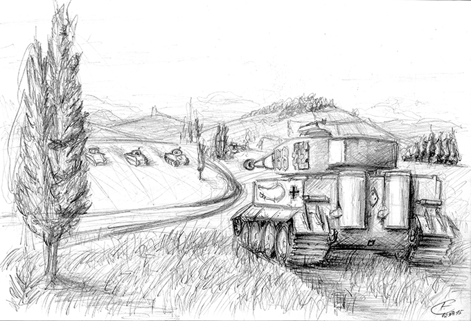 Tiger Tank by Gallardose