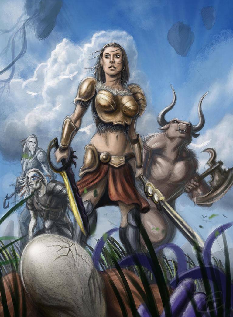 Nathalia, Destroyer of the Eldrazi by Gallardose