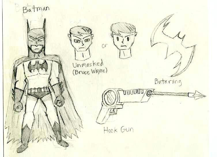 Batman by DTrinidad