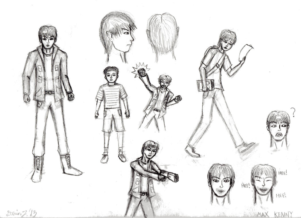 The NEW Max Kenny Pencil Artwork by DTrinidad
