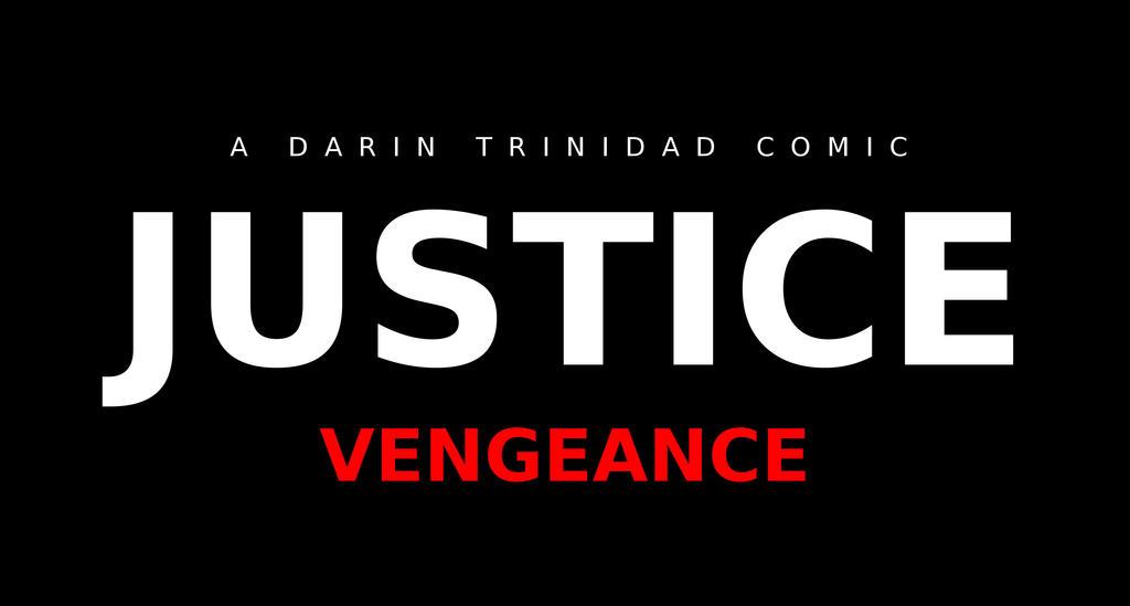 Justice: Vengeance Logo BLACK by DTrinidad