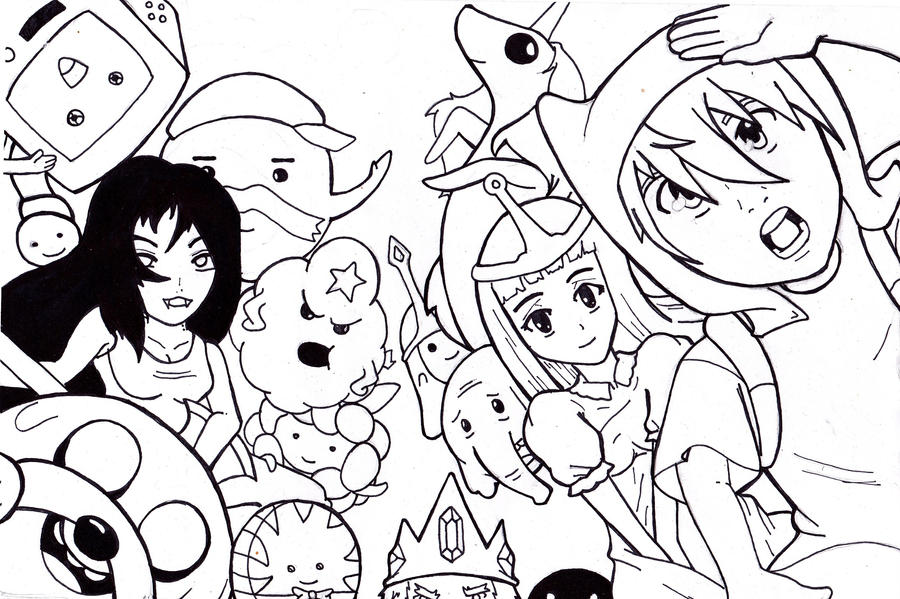 Adventure Time Anime by 1BetaOne on DeviantArt