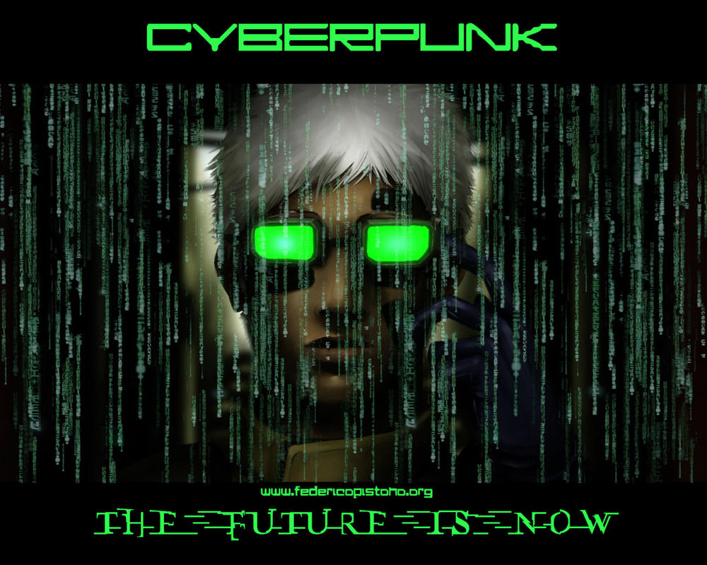 Cyberpunk - The Future is now by M0lybdenum