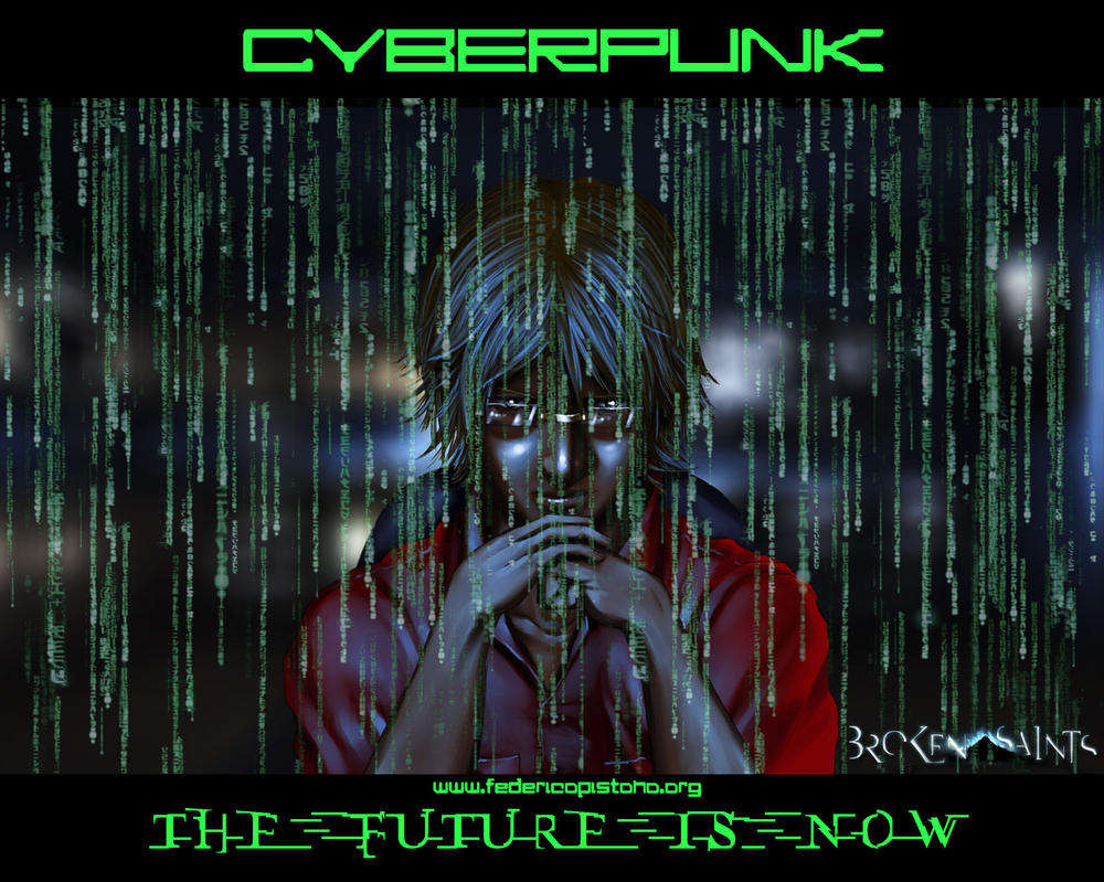 Cyberpunk - The Futur3 is now by M0lybdenum