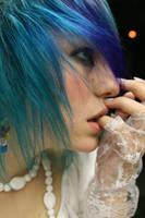 Purple Hair Two by SaucyMaid