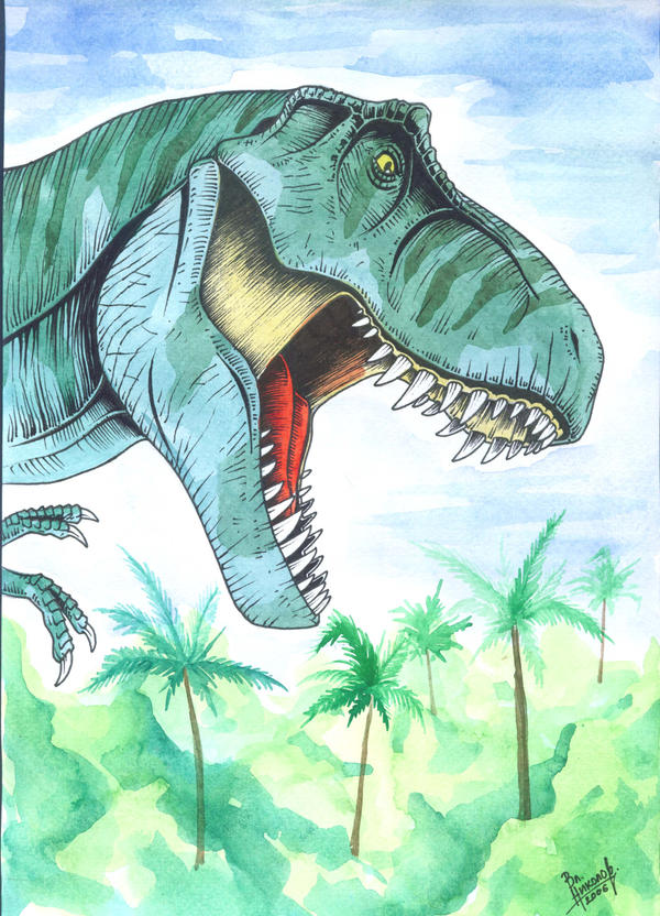 Tyrannosaurus rex by T-PEKC on DeviantArt