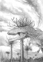 Giganotosaurus carolinii by T-PEKC
