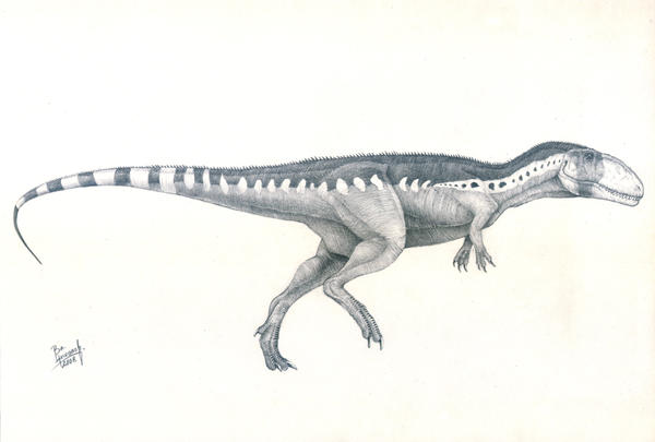 Mapusaurus roseae by T-PEKC