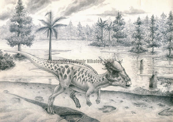 Stygimoloch spinifer by T-PEKC