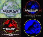 'Jurassic Park' logos