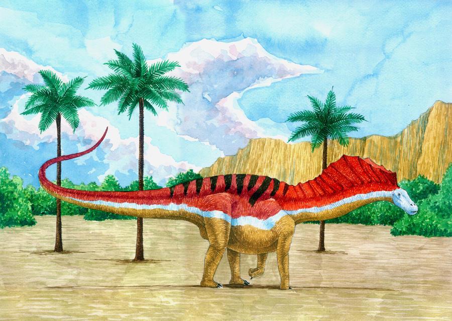 Amargasaurus_cazaui by T-PEKC