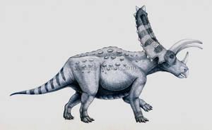 Pentaceratops sternbergii by T-PEKC