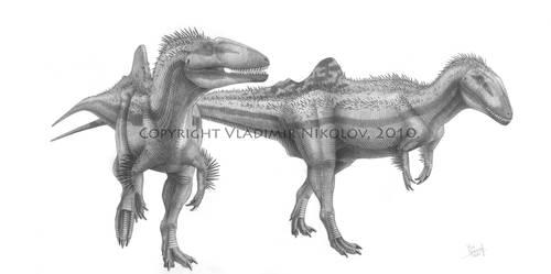 Concavenator corcovatus by T-PEKC