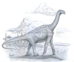 Atlasaurus imelakei by T-PEKC