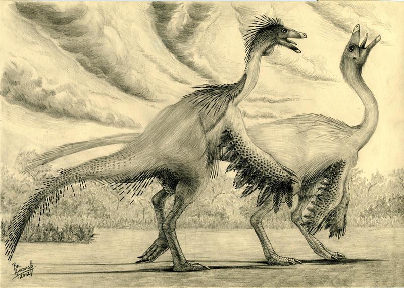Ornithomimus edmontonicus by T-PEKC