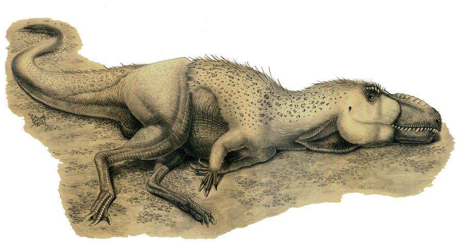 Dryptosaurus aquilunguis by T-PEKC