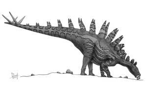 Tuojiangosaurus multispinus by T-PEKC