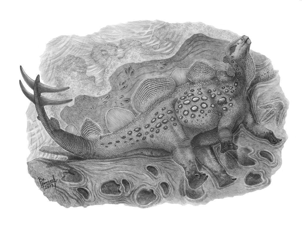 Hesperosaurus mjosi by T-PEKC