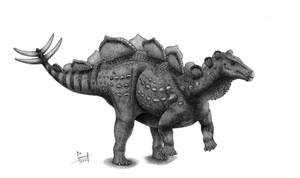 Wuerhosaurus homheni by T-PEKC