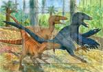 Utahraptor concept art 2