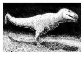 Nanuqsaurus hoglundi by T-PEKC