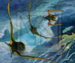 Crepuscular maneuvers - Anurognathus ammoni