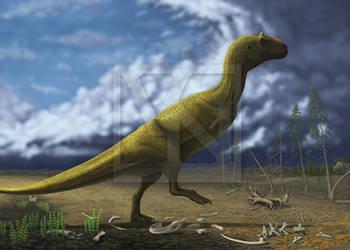 Majungasaurus crenatissimus by T-PEKC
