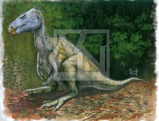 Rhabdodontid ornithopod by T-PEKC