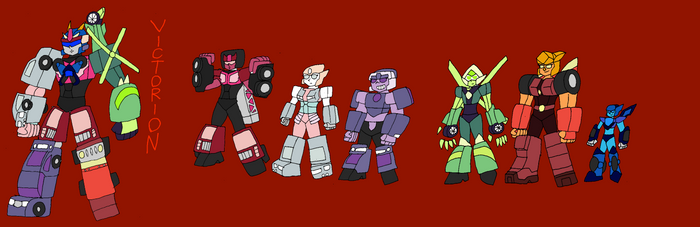 Victorion, Gem Colors by InvaderToum