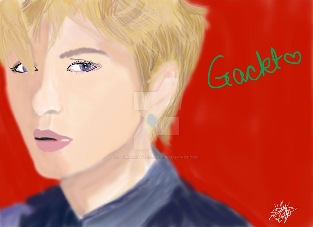 Gackt~ by flyingwithadragon
