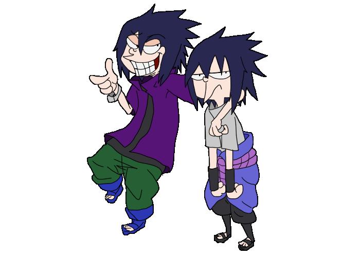 rtn sasuke and taka sasuke: EEnE style by itasasu2002
