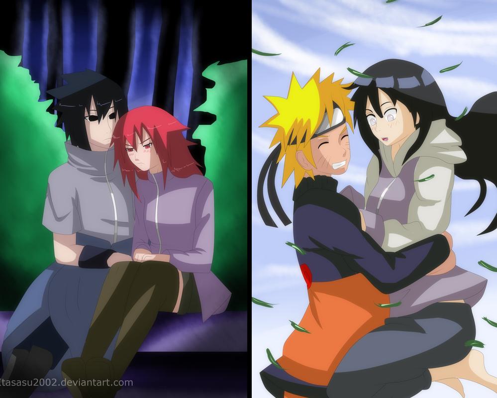 Sasukarin And Naruhina: they saved them by itasasu2002