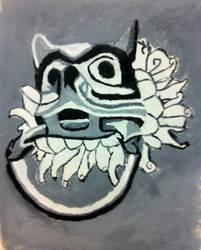 gargoyle door knocker by tutor71