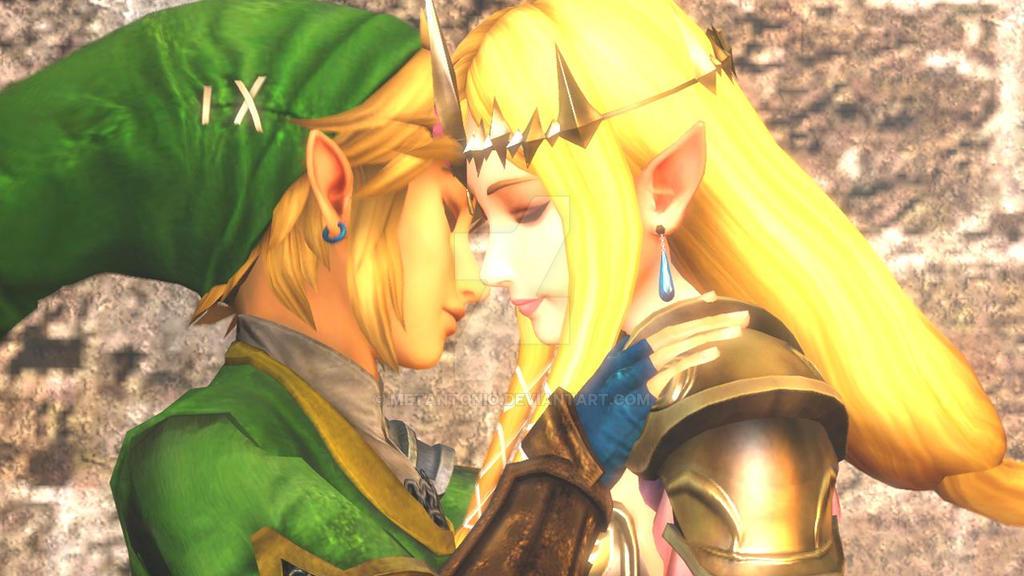 sfm anim remember this day the legend of zelda by metantonio - Link Et Zelda