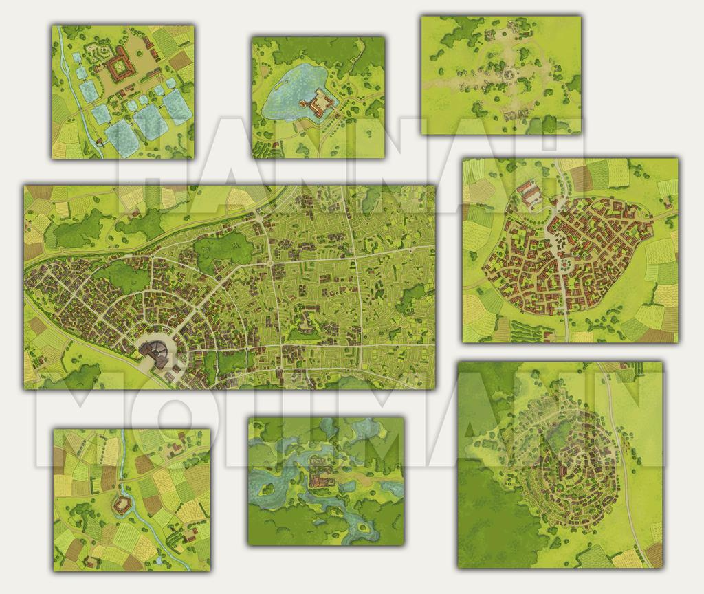 Dsa Karte.2012 Dsa Gareth Minimaps By Crumpled On Deviantart
