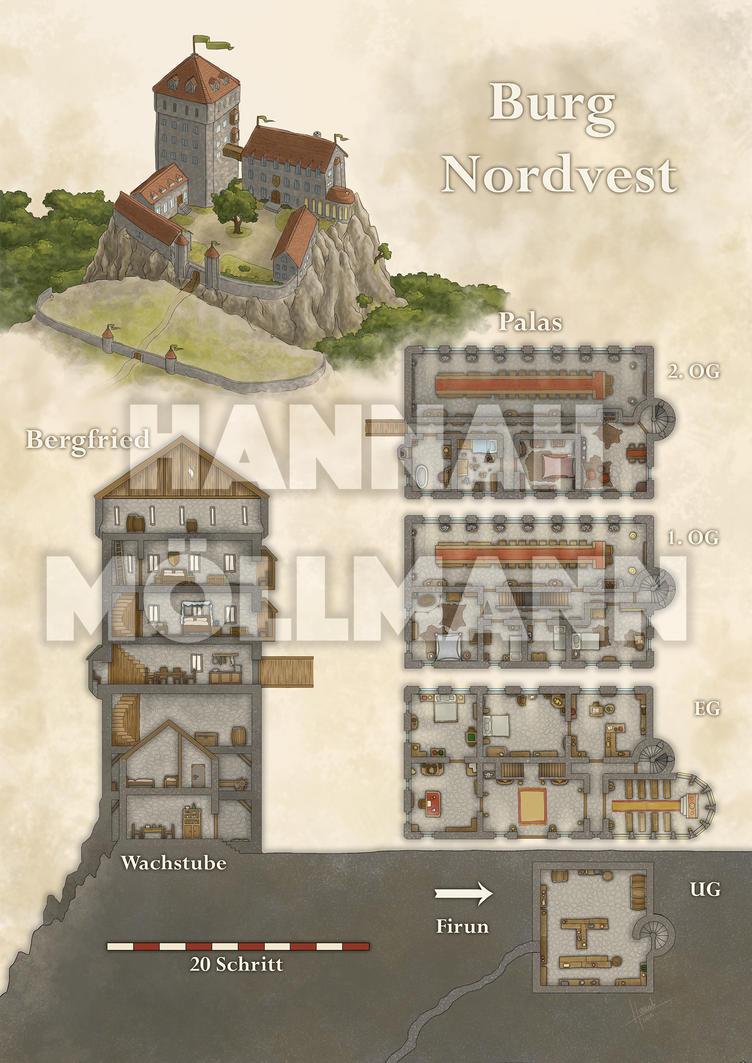 2016 - DSA - Burg Nordvest by crumpled