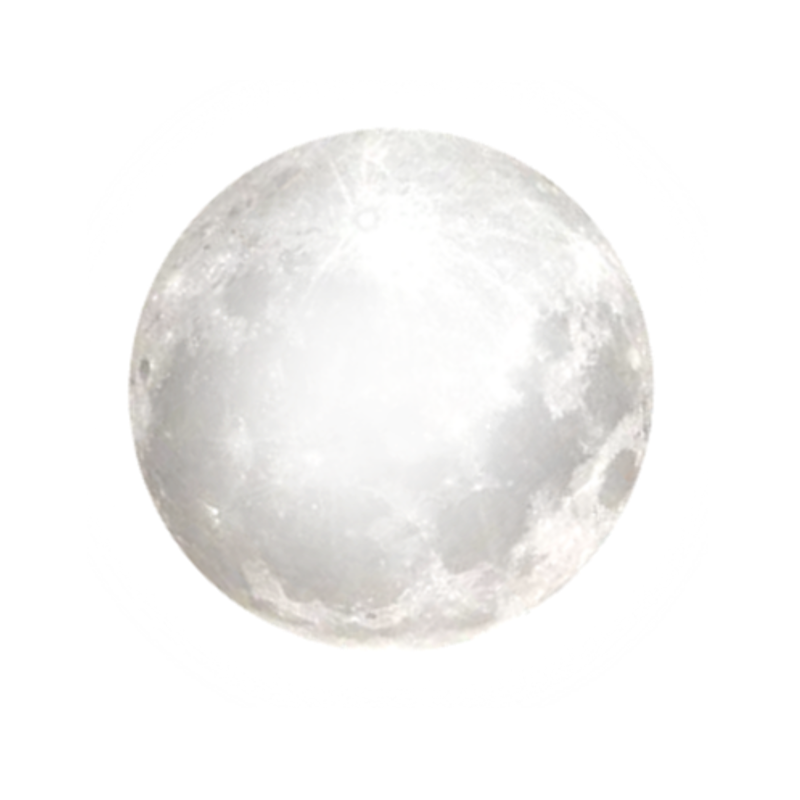 Bright Full Moon PNG