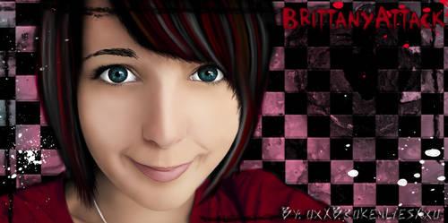 Painted BrittanyAttack by Analy-Aranda