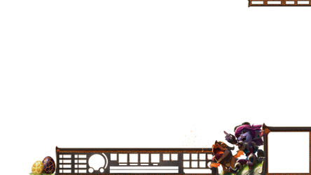 Dragontrainer Tristana HUD Stream Overlay.