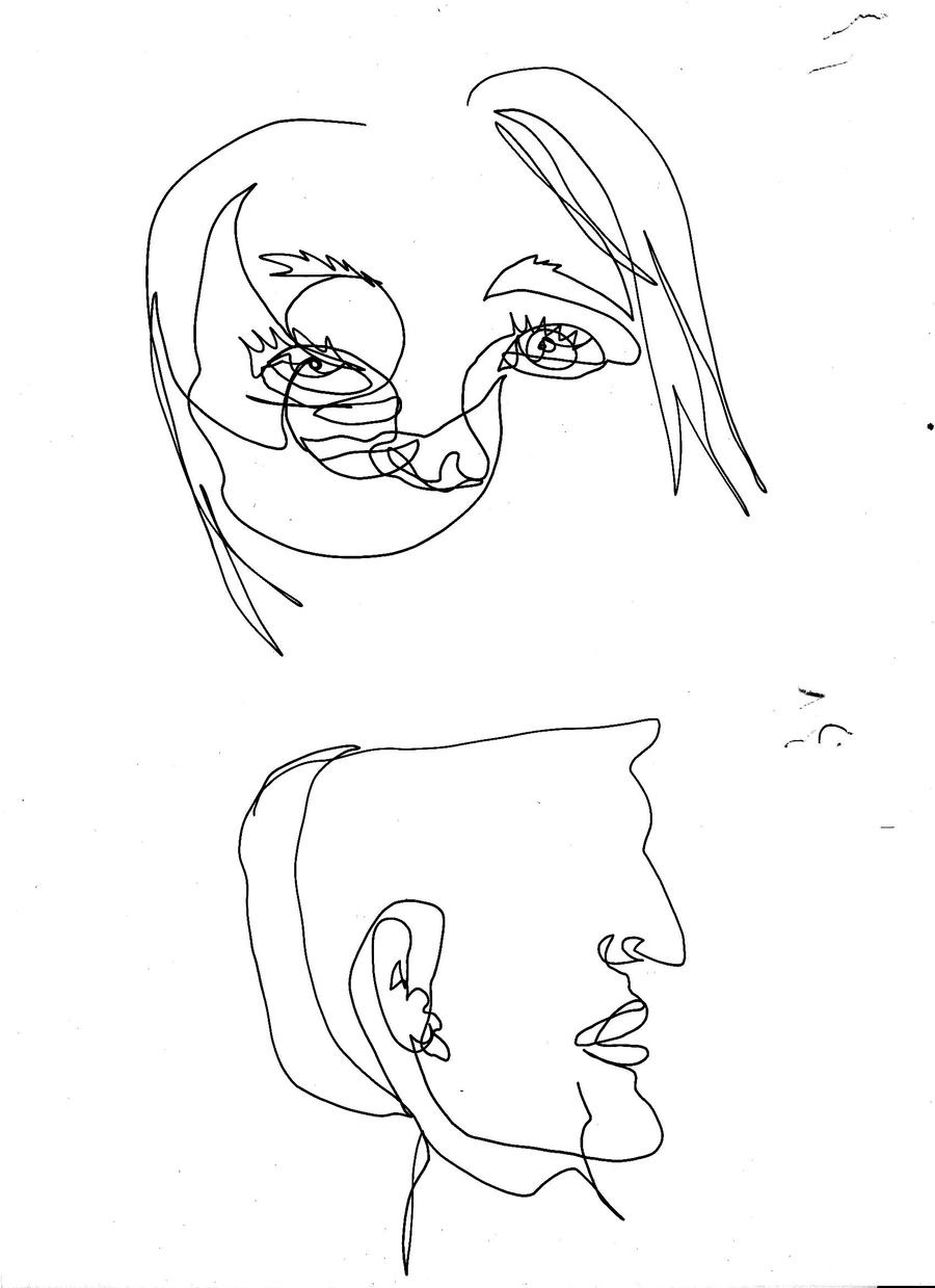 Contour Line Drawings Famous : Contour line drawing by haileyedwards on deviantart