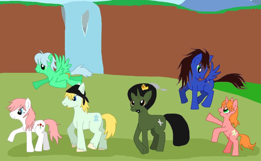 FFXIII - Equestria forms by sailorvulpix