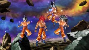 Goku Hakai Shin UI SSJ - SSJ2 - SSJ3 - SSJ4