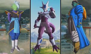 Dragon Ball Legends - Cooler, Zamasu, Bojack