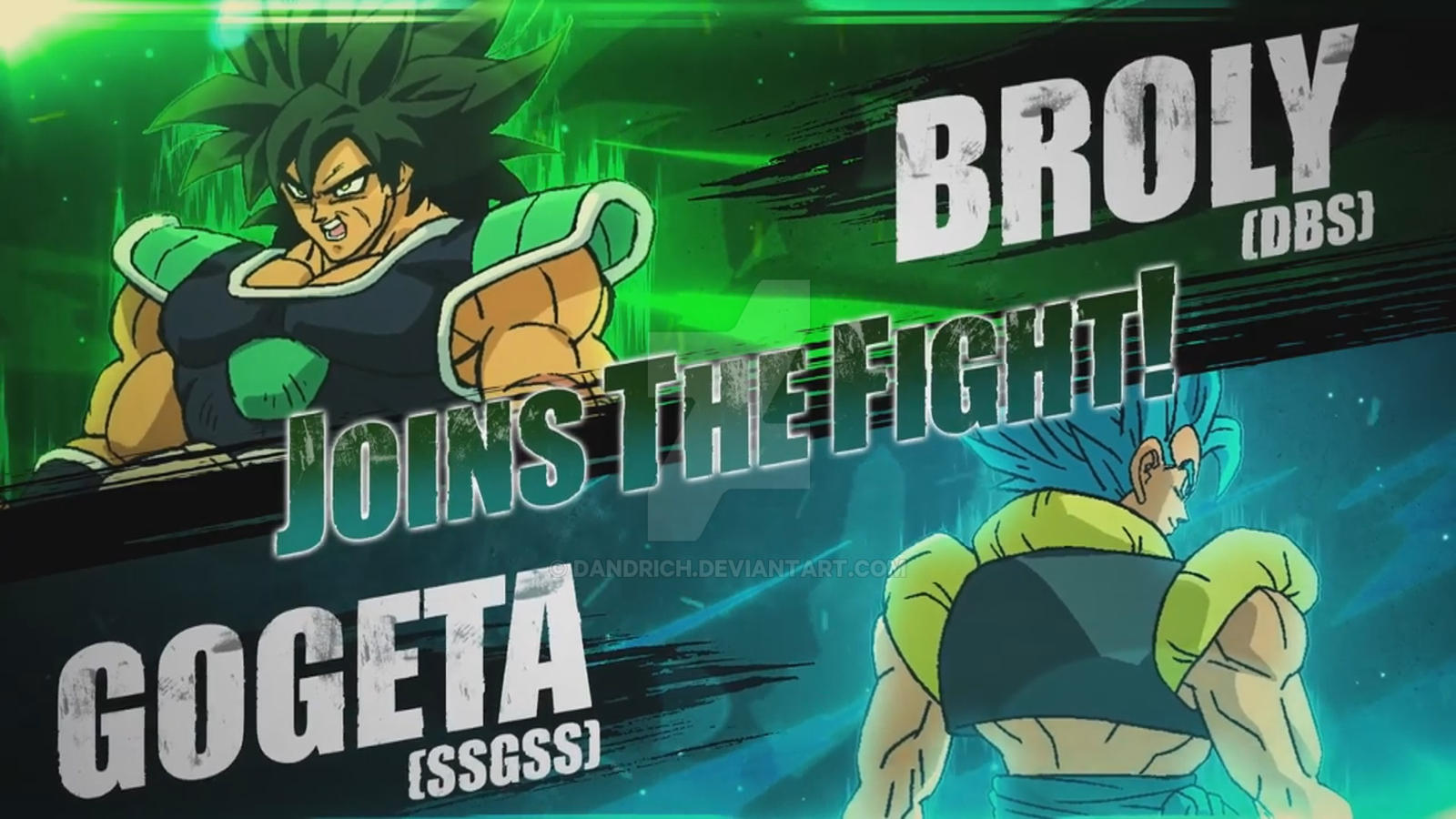 Dragon Ball Fighterz Jiren Gogeta Broly Videl By Dandrich On Deviantart