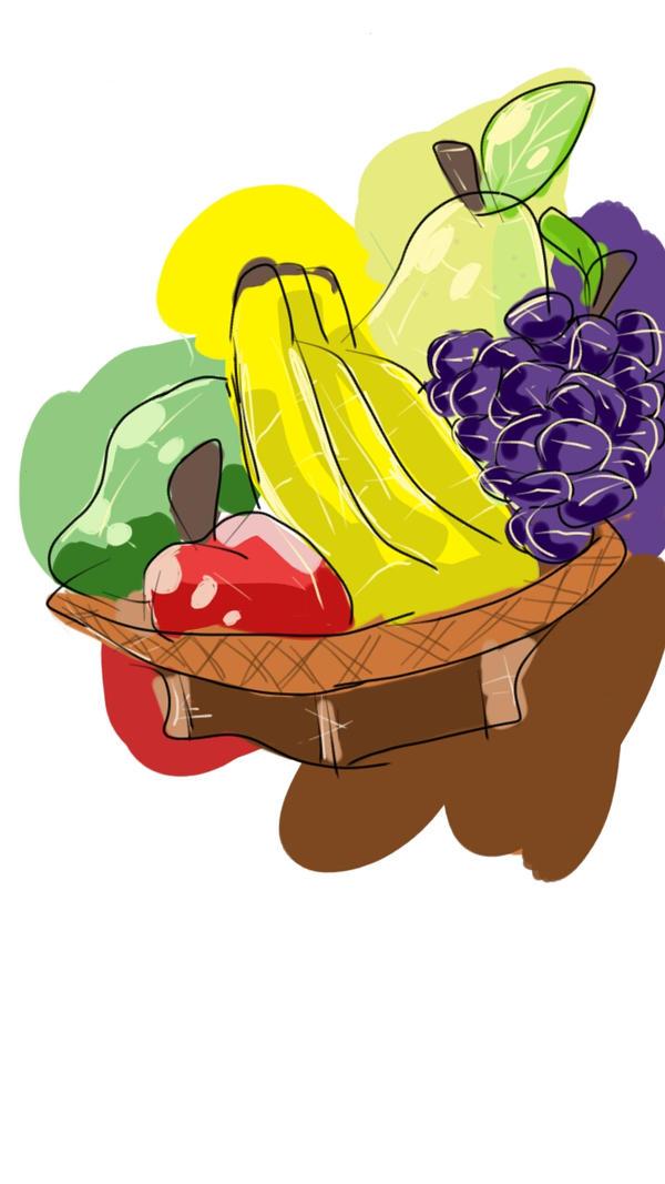BASKET OF FRUIT by justarandomfruit