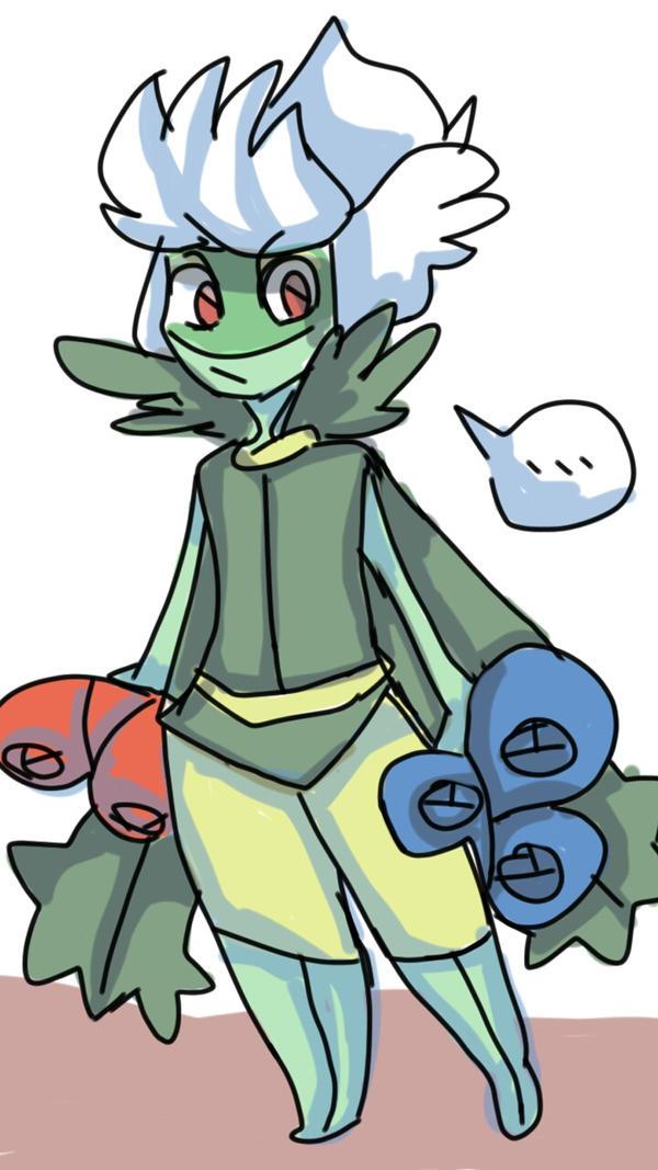 Roserade -pokemon by justarandomfruit