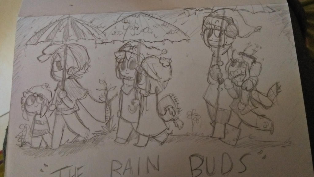 The Rain buds by justarandomfruit