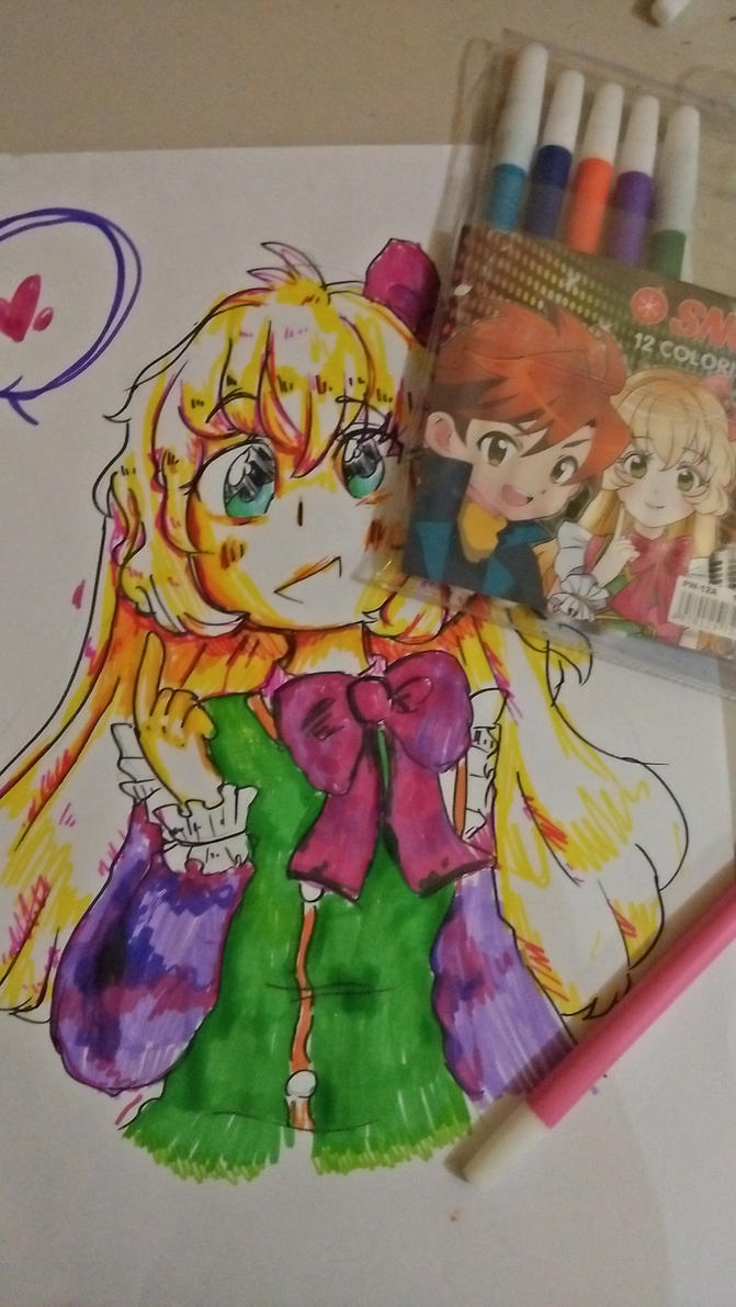 Drawing with Markers! by justarandomfruit